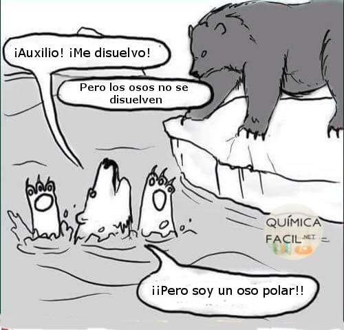 Pobres osos polares. Visítanos para más humor químico