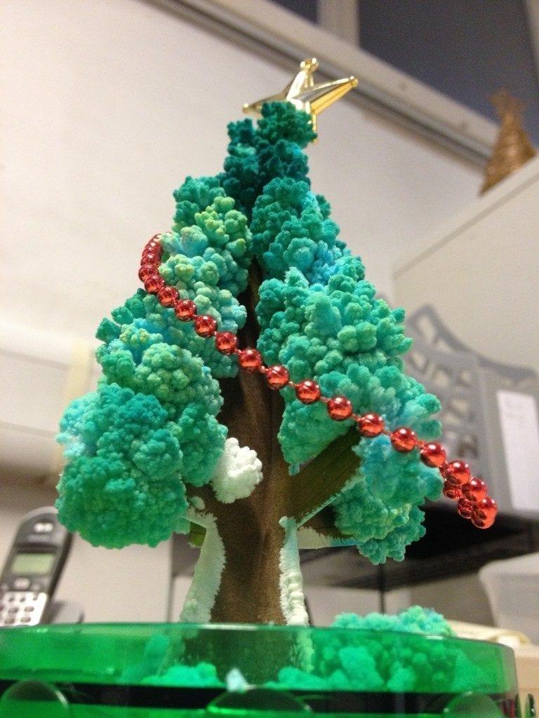 Un ejemplo de un hermoso arbol de navidad o quiminavidad