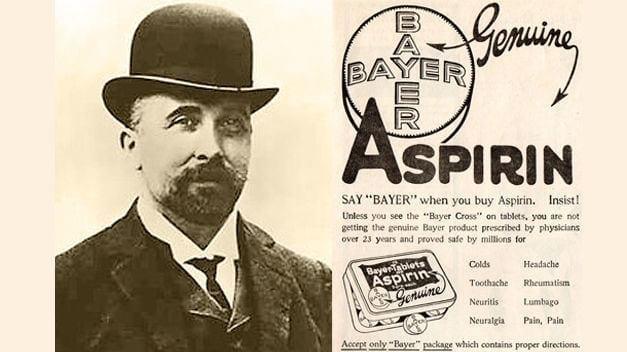 Felix Hoffmann y publicidad de aspirina ®