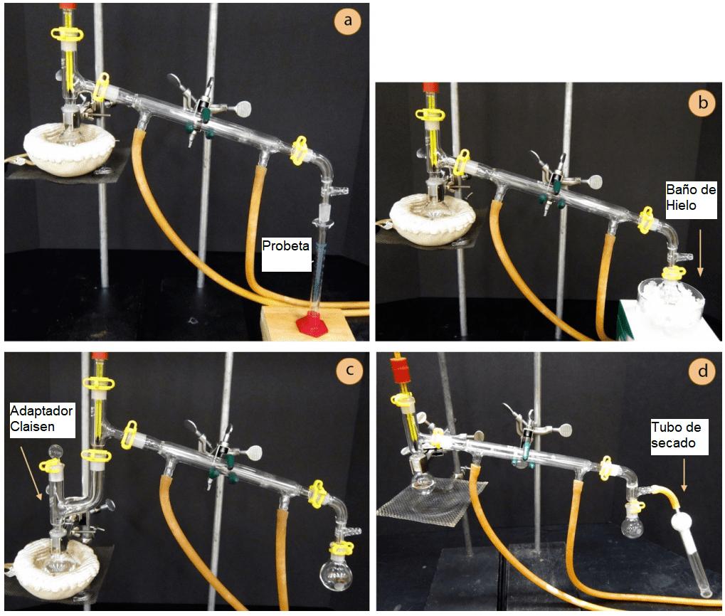 Variantes destilación simple
