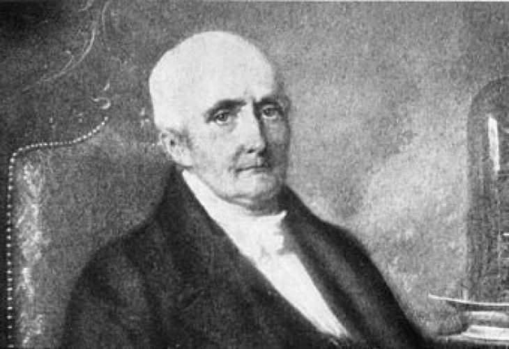 Grabado de Nicolas-Théodore de Saussure