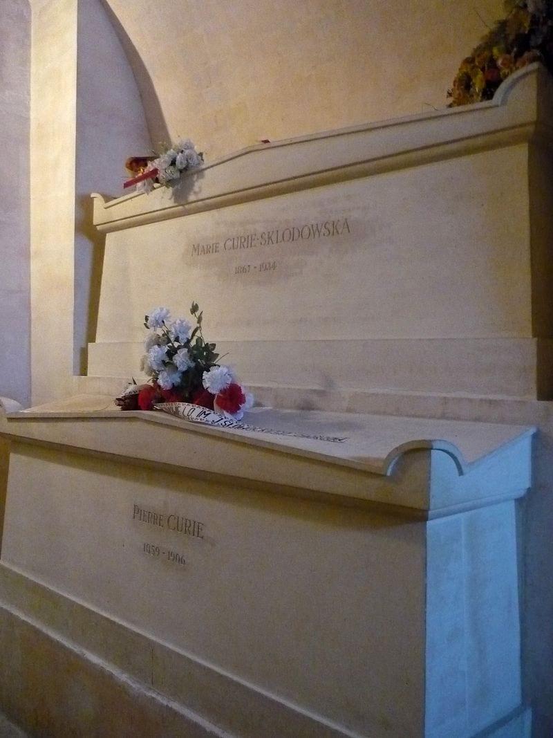 Tumba de Pierre y Marie Curie, Panteón de París