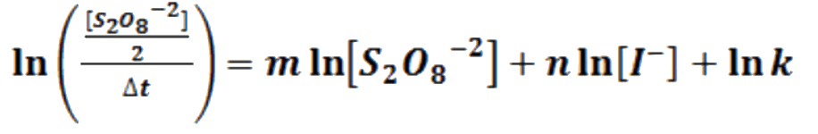 cinética de reacción 5