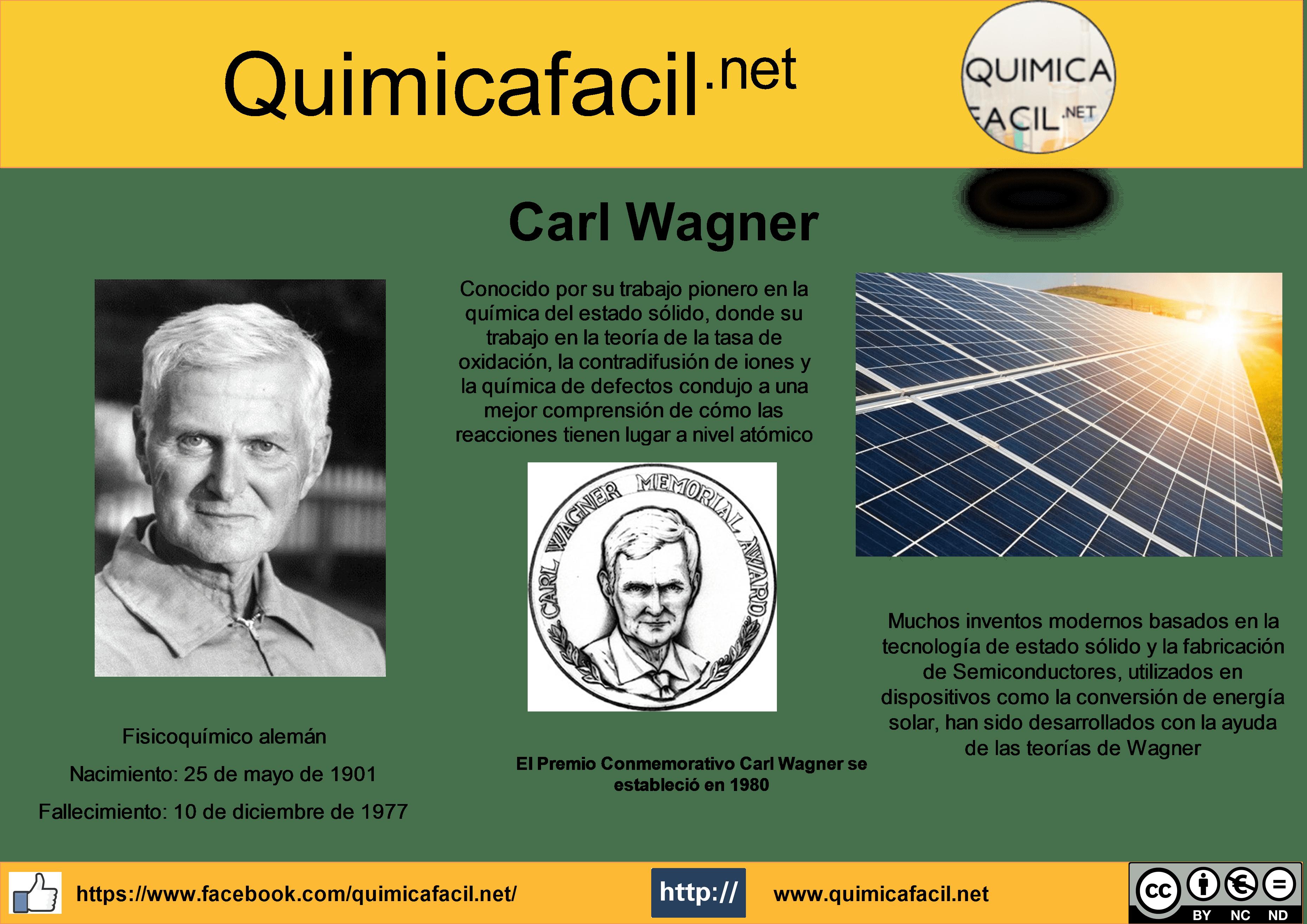 Infografia de Carl Wagner
