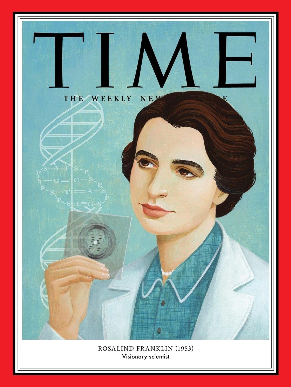 Portada de Rosalind Franklin en la revista Time