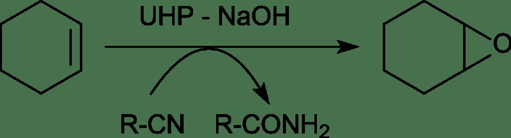 Epoxidación del ciclohexeno con UHP