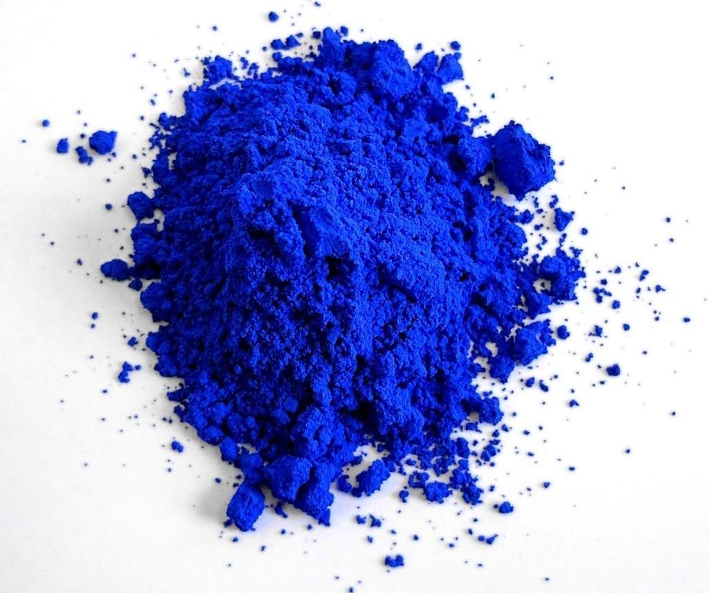 Muestra del azul YInMn