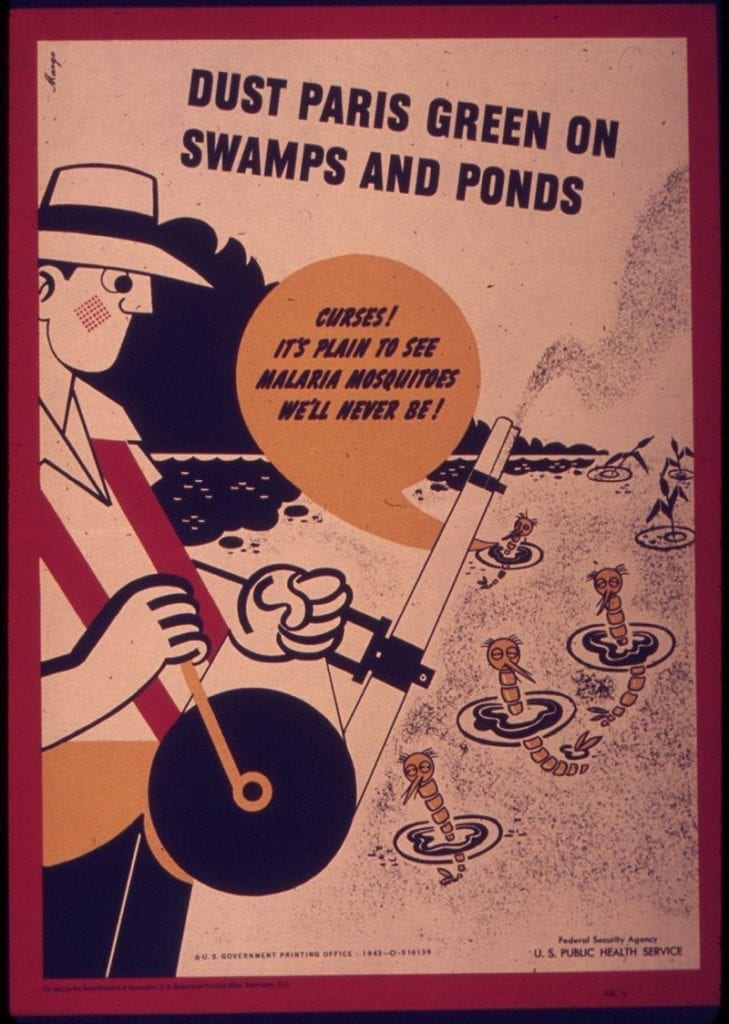 póster publicado por el Servicio de Salud Pública de EE.UU.