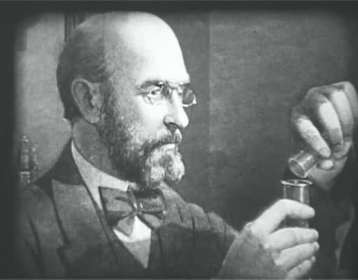 Dibujo de Butlerov en el laboratorio