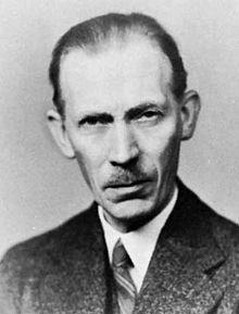 Johannes Nicolaus Brønsted (1879 - 1947)