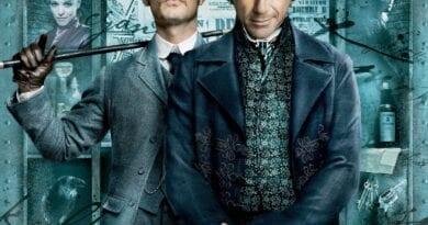 Poster promocional de Sherlock Holmes (2009) Con Robert Downey Jr y Jude Law