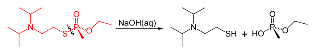 Escisión P-O (el producto EA-2192 sigue siendo tóxico)