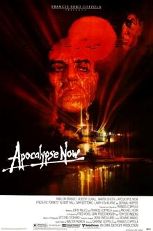 Cartel de estreno de Apocalypse Now por Bob Peak