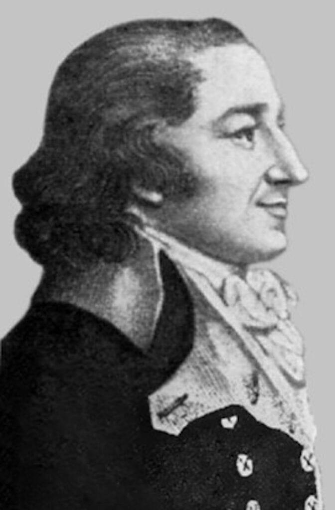 Jeremias Benjamin Richter, químico alemán considerado el padre de la estequiometria