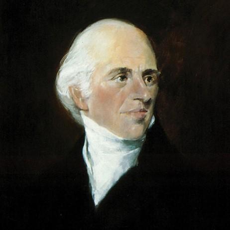 Retrato Jacob Schweppe durante su estancia en Londres de 1792-1799. Schweppe fue uno de los primeros fabricantes de agua carbonatada industrialmente