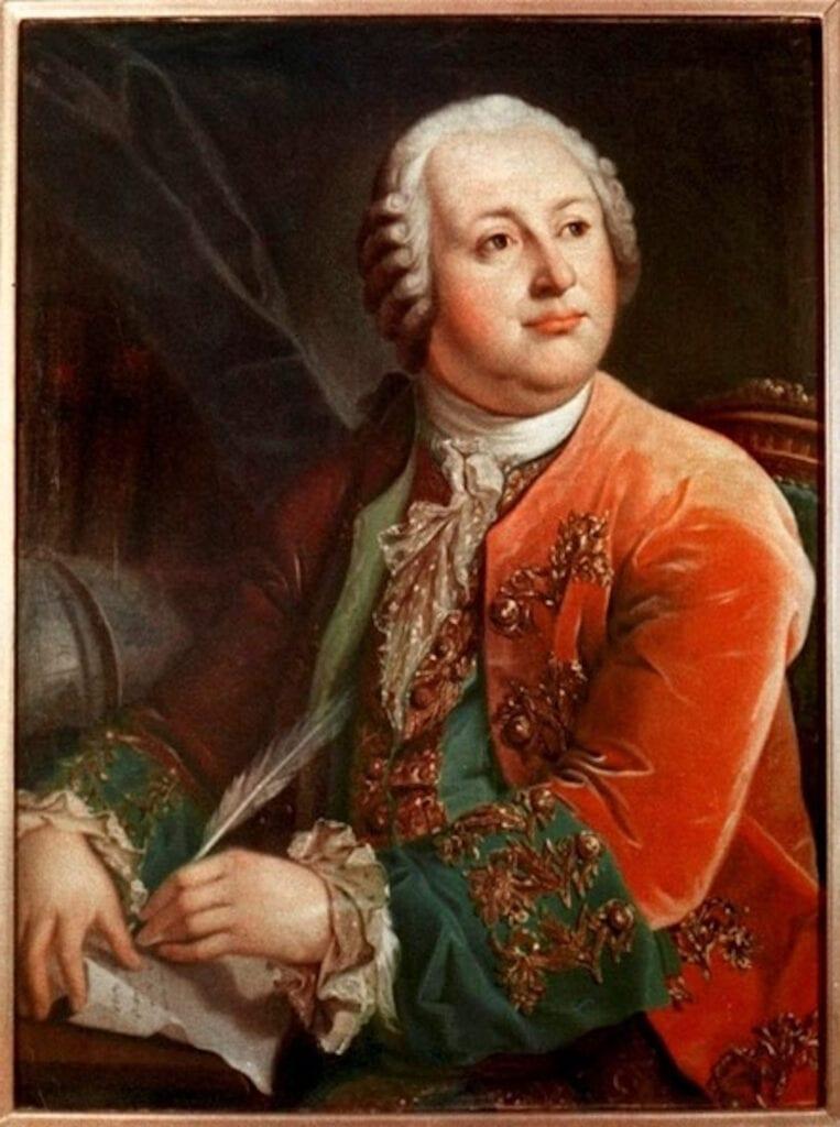 Mijaíl Lomonosov o Mikhail Lomonosov, Científico y polímata ruso