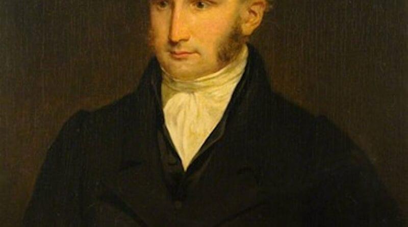 Retrato de William Prout, de Henry Paget, en la Colección de Arte de la Universidad de Edimburgo (Art UK)